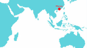 Macau in the map